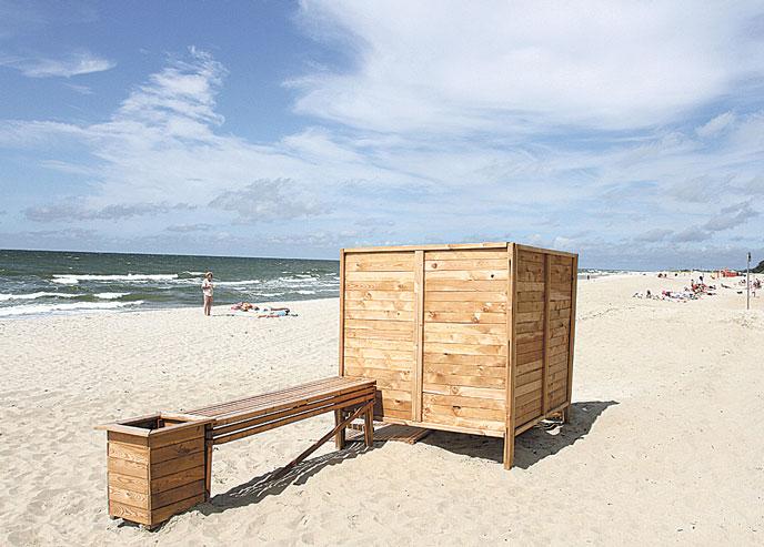 Ню пляж кабинки для переодевания фото 164-279