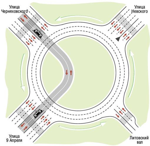 схема движения по площади василевского фото слову